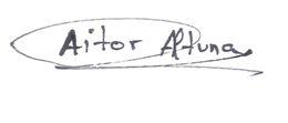 Aitor Unterschrift 2